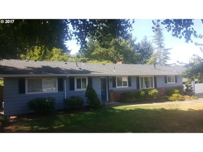 Tigard Single Family Home For Sale: 12025 SW 119th Ave