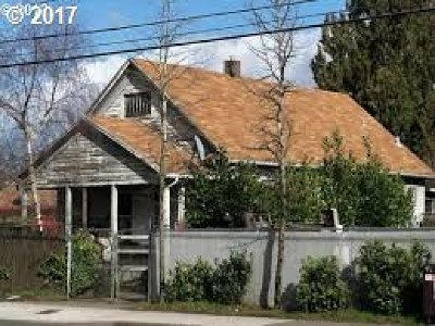 Single Family Home For Sale: 6718 SE 82nd Ave