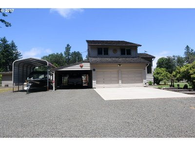 Veneta Single Family Home For Sale: 88709 Ellmaker Rd