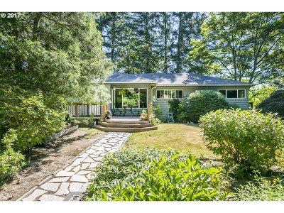 Portland Single Family Home For Sale: 8080 SW Wareham Cir