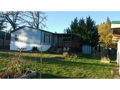 Elmira Single Family Home For Sale: 89293 Knight Rd
