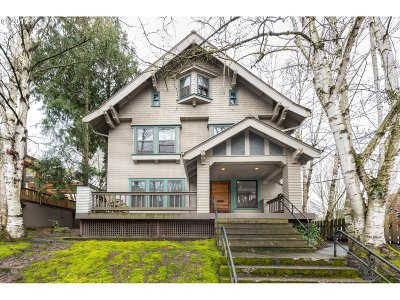 Portland Single Family Home For Sale: 825 NW 22nd Ave