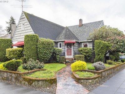Portland Single Family Home For Sale: 3837 NE 17th Ave