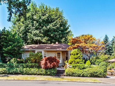 Milwaukie Single Family Home For Sale: 11783 SE 35th Ave