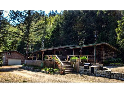 Gold Beach Single Family Home For Sale: 32689 Tanoak Rd