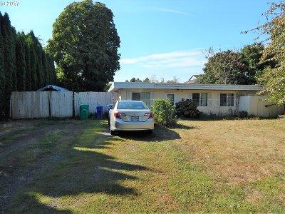 Gresham OR Single Family Home For Sale: $185,000