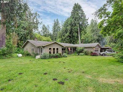 Sandy Single Family Home For Sale: 41748 SE Coalman Rd