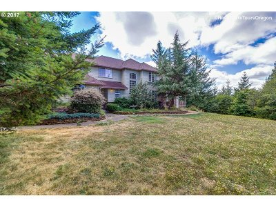 Camas Single Family Home For Sale: 30315 NE Spud Mountain Rd