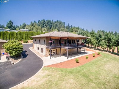 McMinnville Single Family Home For Sale: 13850 NW Pheasant Hill Rd