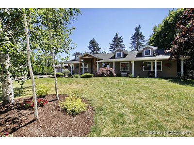 Single Family Home For Sale: 18020 SE Richey Rd
