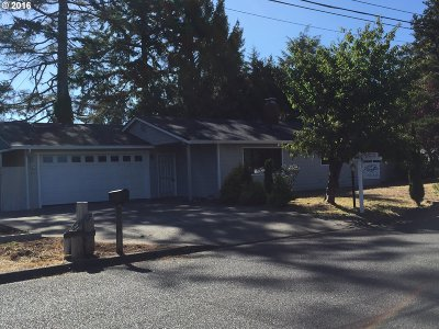 North Bend Single Family Home For Sale: 3793 Fir