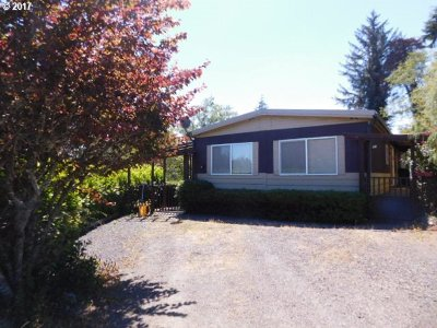 Coos Bay Single Family Home Bumpable Buyer: 63429 Everett Rd