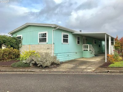 Eugene OR Single Family Home For Sale: $33,000