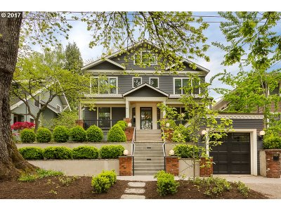 Multnomah County Single Family Home For Sale: 2134 NE 19th Ave