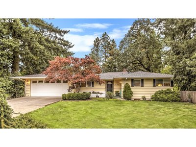Beaverton Single Family Home For Sale: 14465 SW Hargis Rd