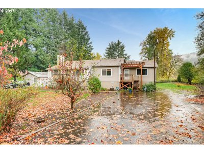 Single Family Home For Sale: 3123 NW Gales Creek Rd