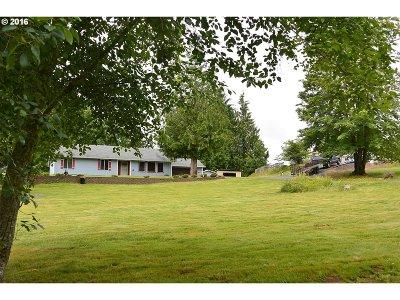 Clatskanie Single Family Home For Sale: 75344 Clatskanie Valley Dr