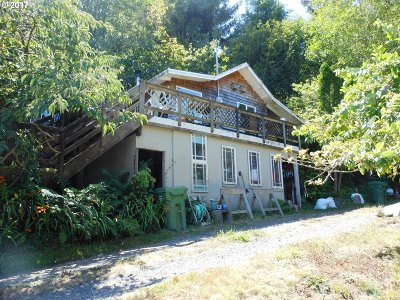 Coos Bay Single Family Home For Sale: 64058 Seven Devils Rd