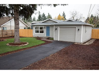 Single Family Home For Sale: 6600 SE Fir Ave