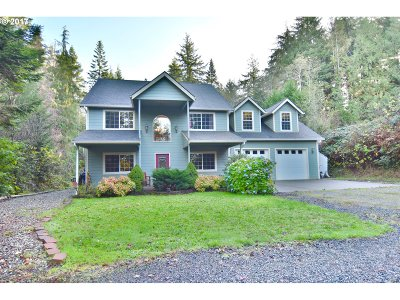 Coos Bay Single Family Home For Sale: 93789 Coos-Sumner Ln