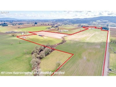 Newberg, Dundee Farm & Ranch For Sale: 16785 NE Calkins Ln