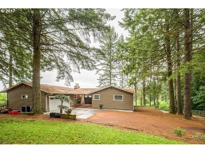 Hillsboro, Cornelius, Forest Grove Single Family Home For Sale: 16950 SW Holly Hill Rd