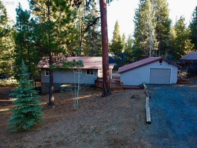 Bend Single Family Home For Sale: 55165 Forest Ln