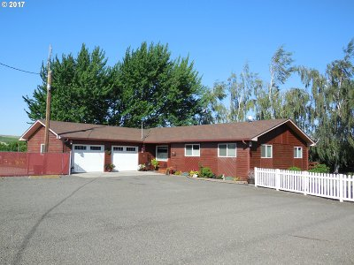 Umatilla County Single Family Home For Sale: 52794 County Rd