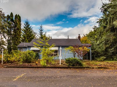 Portland Single Family Home For Sale: 8734 NW Wood Ave