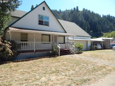 Mapleton Single Family Home For Sale: 10738 Hwy 126