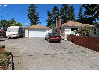 Portland Single Family Home For Sale: 8436 SE 72nd Ave