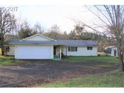 Eugene Single Family Home For Sale: 86956 Bailey Hill Rd