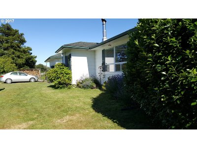 Port Orford Single Family Home For Sale: 92727 Cape Blanco Rd