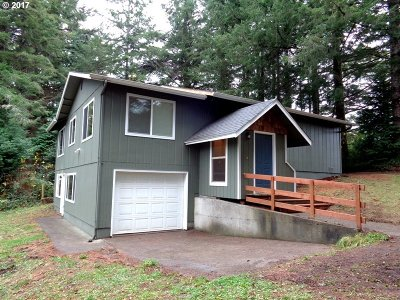 Coos Bay Single Family Home For Sale: 63107 Fruitdale Rd