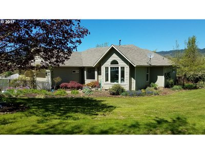 Cottage Grove, Creswell Single Family Home For Sale: 31097 Camas Swale Rd