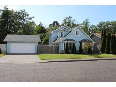 North Bend Single Family Home For Sale: 2440 Grant St