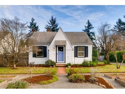 Portland OR Single Family Home For Sale: $309,000