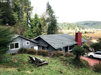 Single Family Home Sold: 5955 North Fork Siuslaw Rd