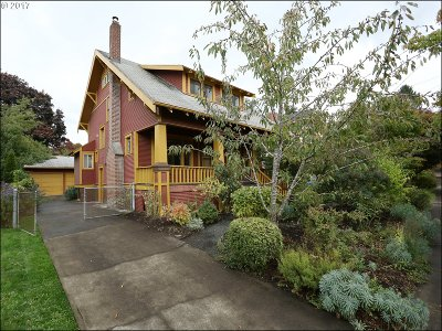Single Family Home For Sale: 1816 SE 54th Ave