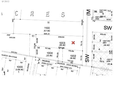 Aloha Residential Lots & Land For Sale: 2995 SW 214th Ave