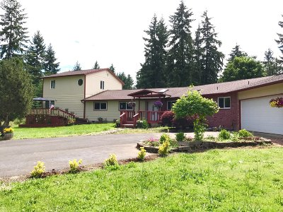 Molalla Single Family Home For Sale: 18752 S Munson Rd
