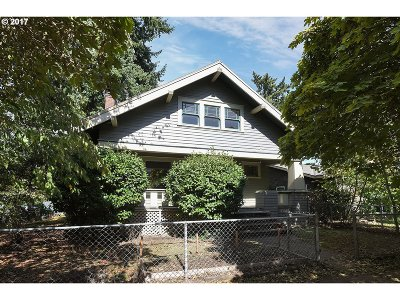 Single Family Home Sold: 2707 NE Jarrett St