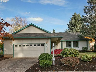 Beaverton, Aloha Single Family Home Bumpable Buyer: 6454 SW Skiver Dr
