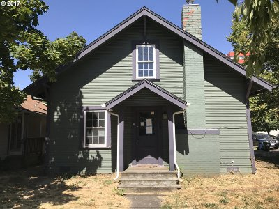 Eugene Single Family Home For Sale: 109 W 17th Ave