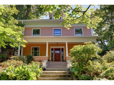 Portland Single Family Home For Sale: 536 SE 17th Ave