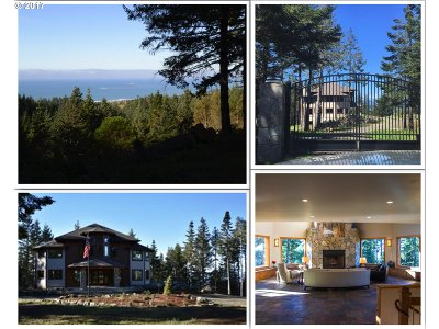 Gold Beach Single Family Home For Sale: 94850 Grizzly Mtn Rd