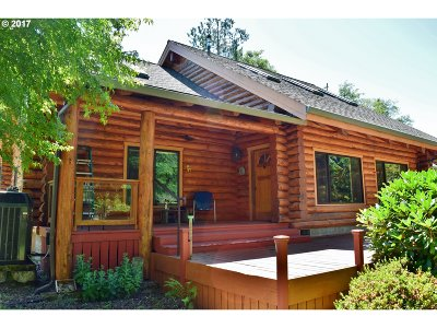 Mapleton Single Family Home For Sale: 8483 Duncan Island Rd
