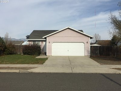 La Grande OR Single Family Home Pending: $159,900