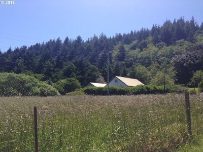 Port Orford Single Family Home For Sale: 93358 Elk River Rd
