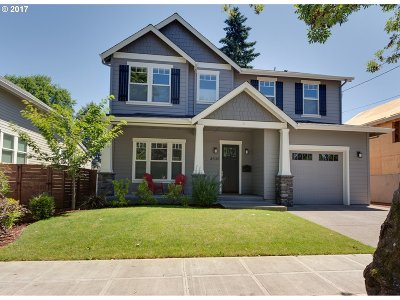 Single Family Home For Sale: 8030 SE 24th Ave